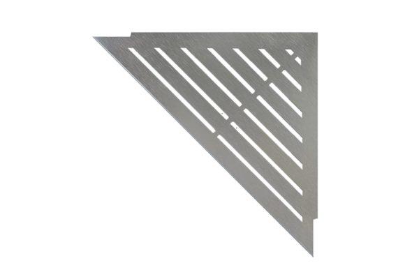 ABLAGO Design-Duschablage aus Edelstahl-Befliesbare Duschablage-Duschablage mit Haken-Classic-04