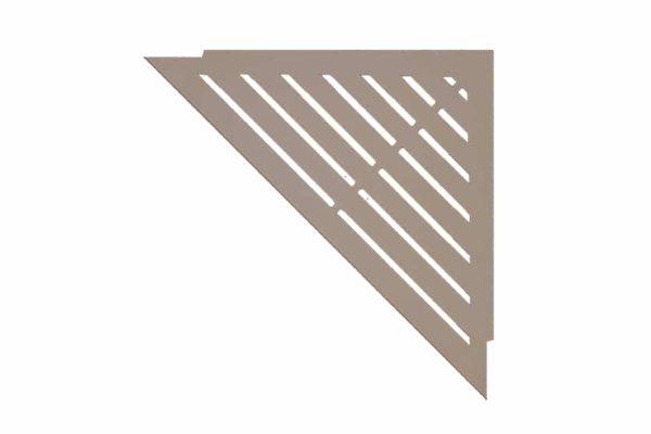 ABLAGO Design-Duschablage aus Edelstahl-Befliesbare Duschablage-Duschablage mit Haken-Classic-06