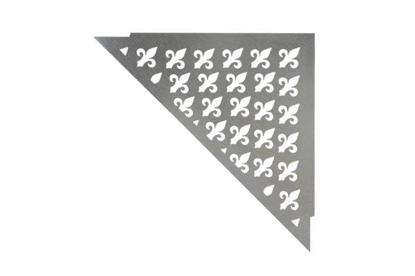 ABLAGO Design-Duschablage aus Edelstahl-Befliesbare Duschablage-Duschablage mit Haken-Vintage-07
