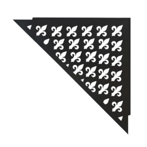 Multifunktionale Ablage Vintage (brilliant schwarz)