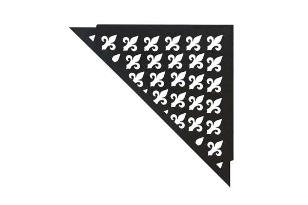 ABLAGO Design-Duschablage aus Edelstahl-Befliesbare Duschablage-Duschablage mit Haken-Vintage-05