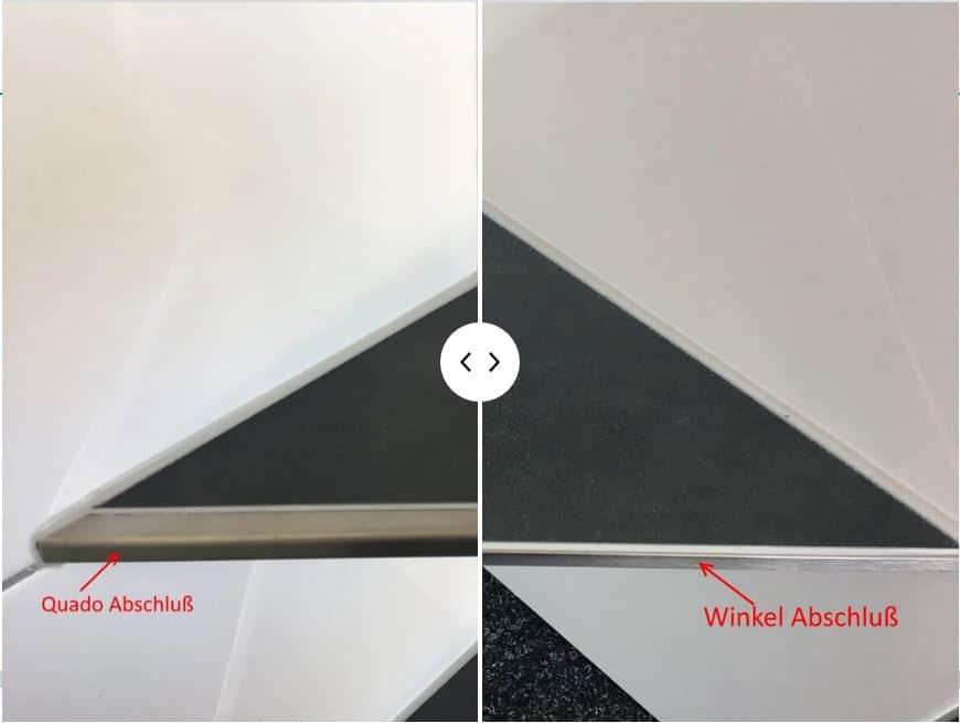Read more about the article Befliesbare Duschablagen – Unterschied zwischen Quado und Winkel Abschluß